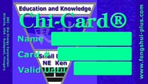 feng shui card education