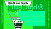 feng shui card family